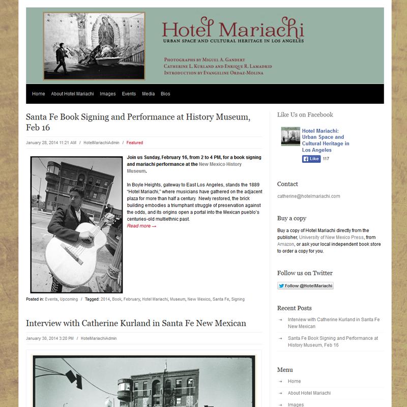 Hotel Mariachi - Book Release