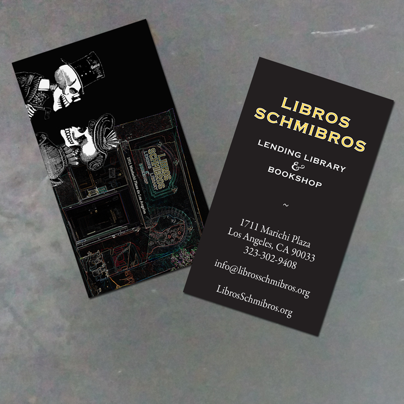 Libros Schmibros Business Cards - R-TDesign.com