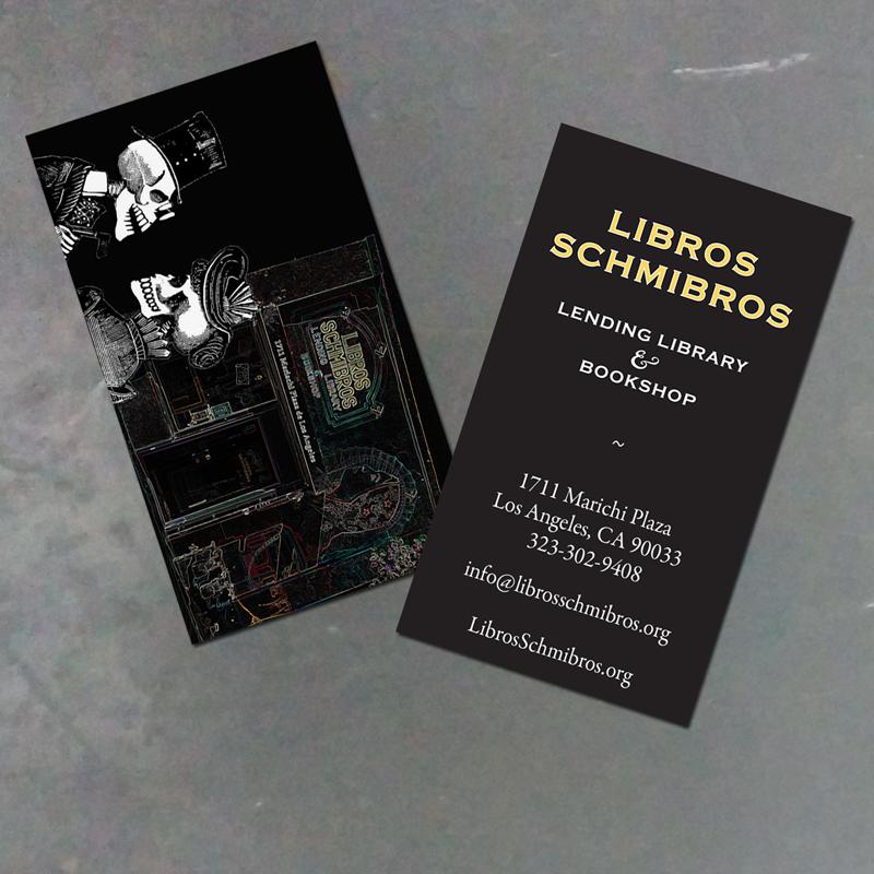 Libros Schmibros Business Cards - R-TDesign.com